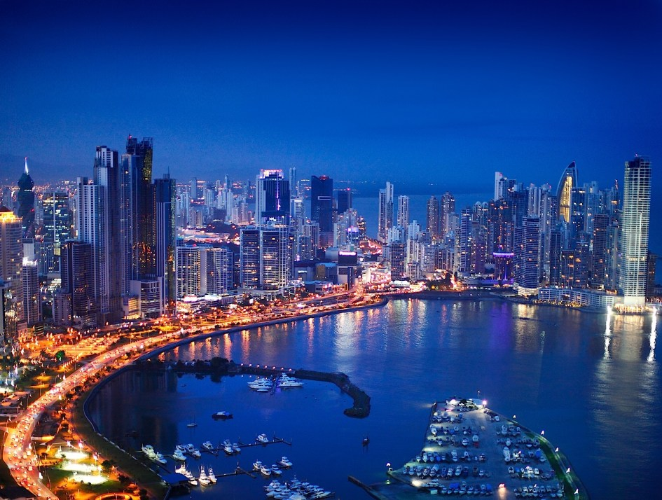 Majestic View of Panama City, Panama