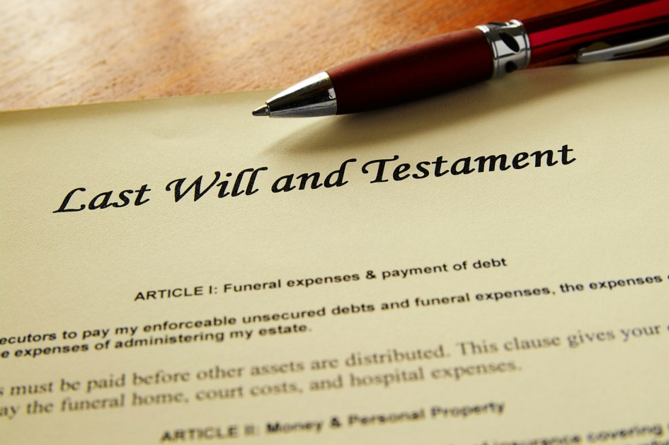 Top 8 things you should think Before Writing Your Will