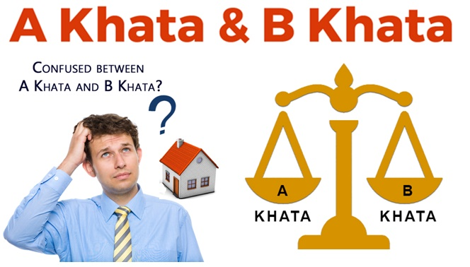 Difference Between A Khata and B Khata