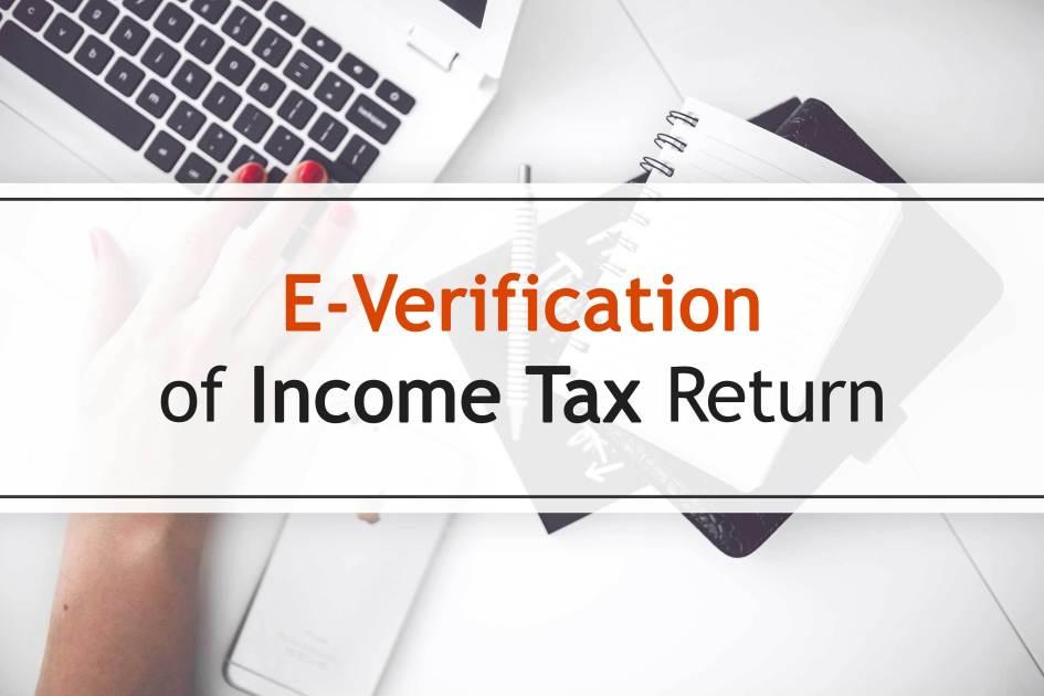 5 Easy Ways to E-Verify Your Income Tax Return