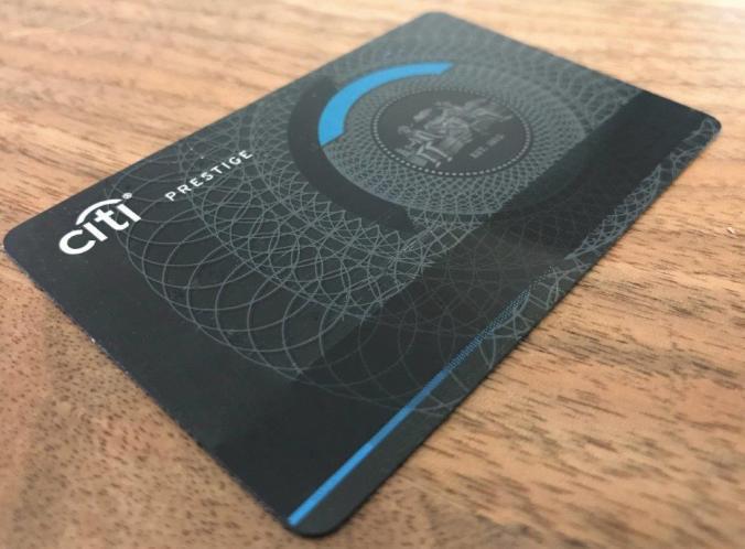 Citi Bank Prestige Credit Card