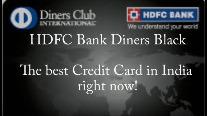 HDFC Diners Club Black Credit Card