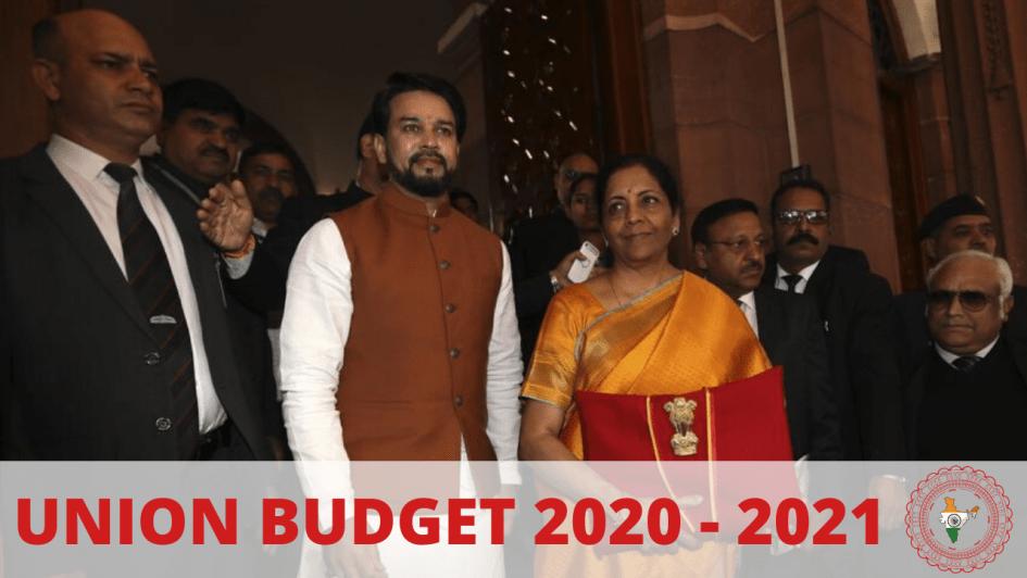 Union Budget 2020 - 2021