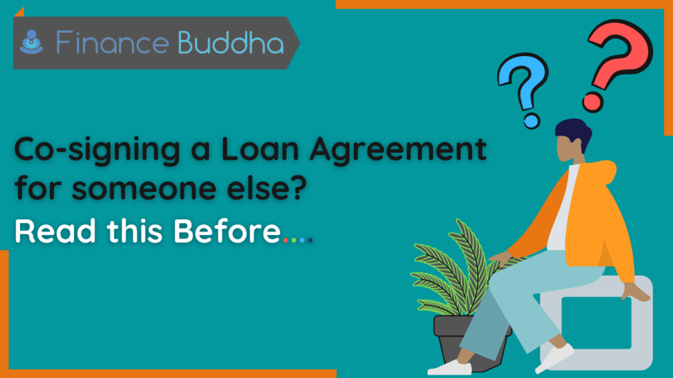 Co-signing a Loan Agreement for someone else