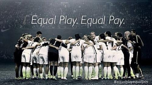 Movimento #Equalplayequalpay , a favor da igualdade salarial