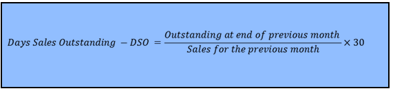 How to calculate Days Sales Outstanding - DSO