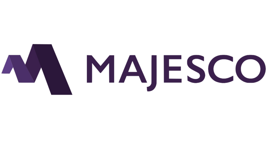 Logo of Indian IT software company Majesco