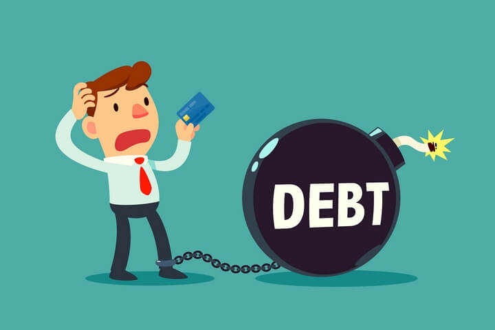 Trying to escape a debt trap