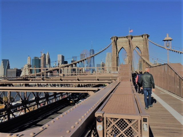 Brooklyn bridge pap