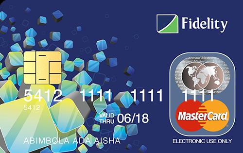 block Fidelity Bank ATM card