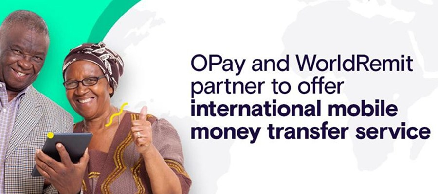 Opay partners worldremit