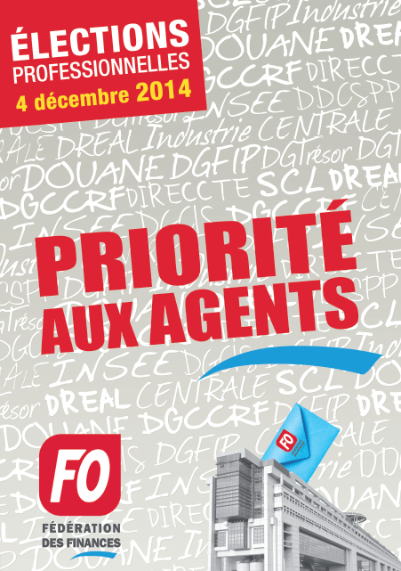 Election syndicale 2014 (1/2)