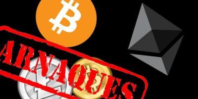 Arnaque crypto-monnaies