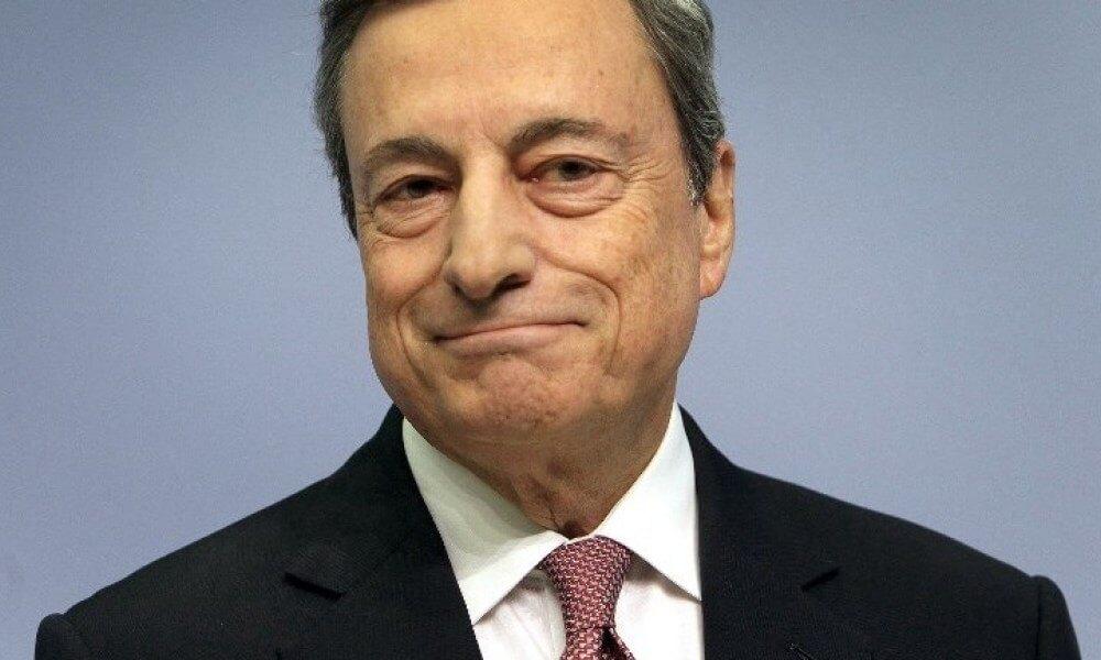 Président de la BCE Mario Draghi