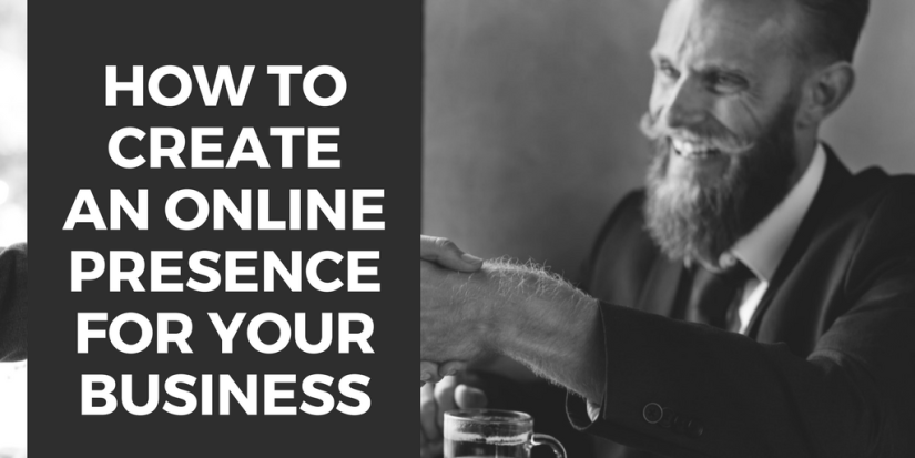 create an online presence for your business