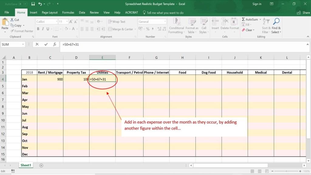 Financial Freedom Footsteps Budget Screenshot 1