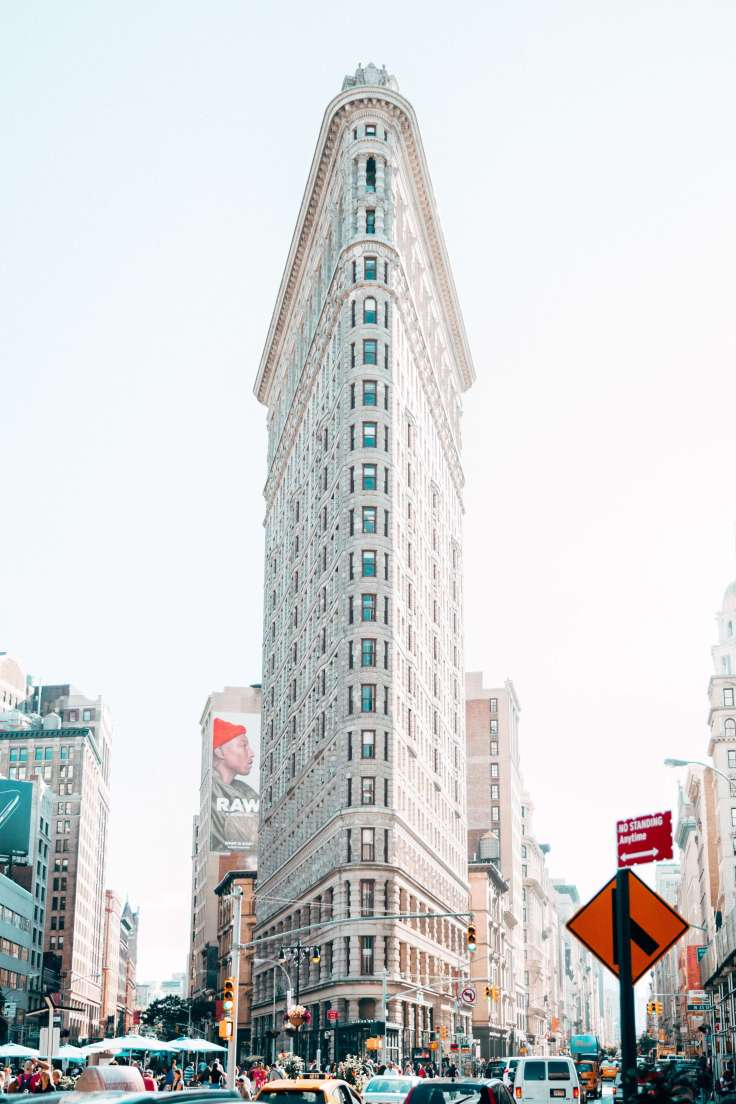 Financial Glass - New York City Flat Iron Building