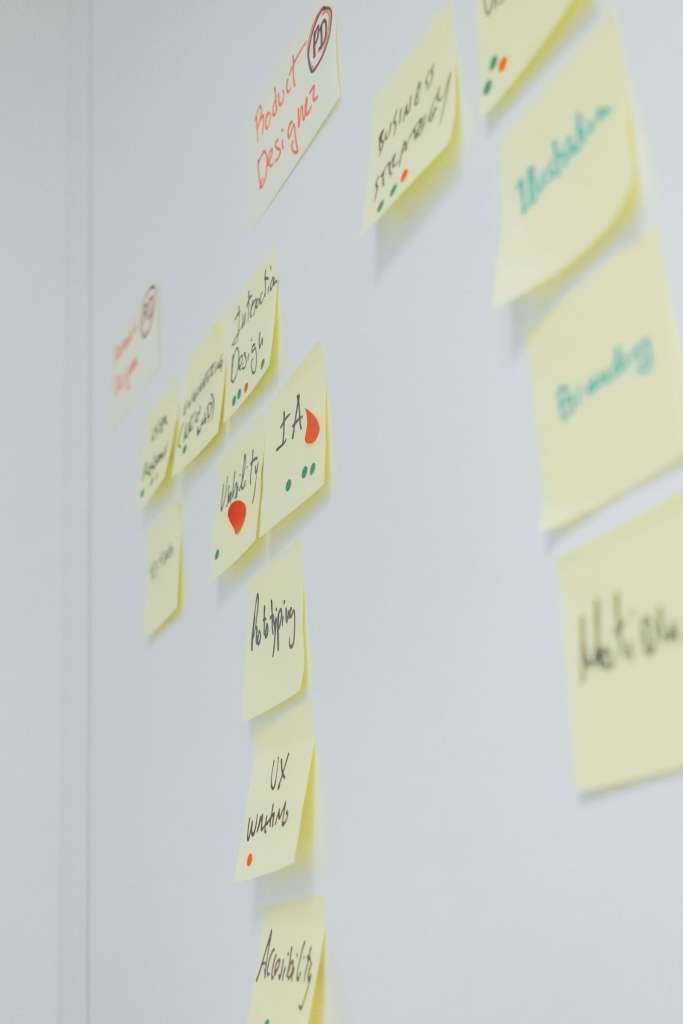 Financial Glass - New Product Development - Sticky Notes