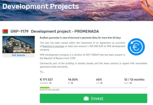Grupeer PROMENADA project