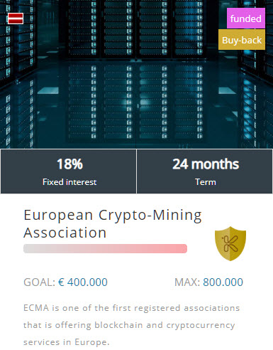 European Crypto-Mining Association project