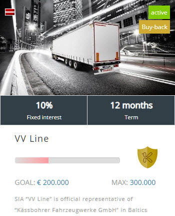 VV Line project