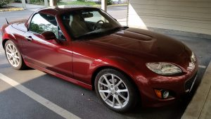 2009 Copper red mica miata mx-5