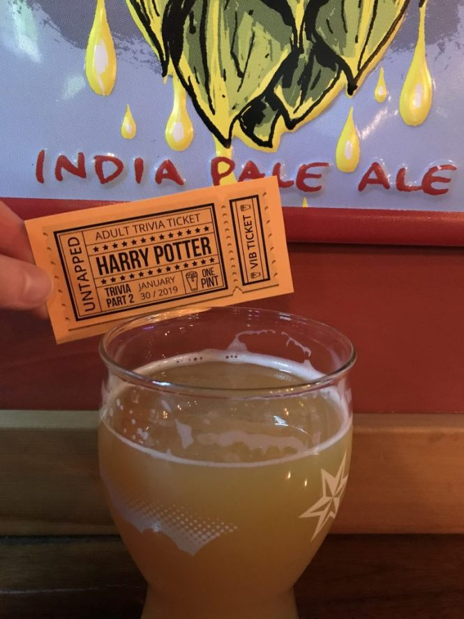 My favorite team name: Hoppy Porter and the Goblet of Cider