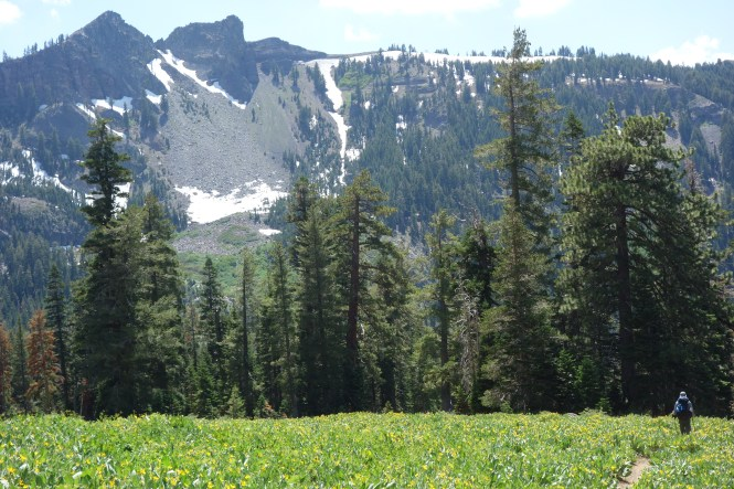 backpacking the tahoe ridge trail