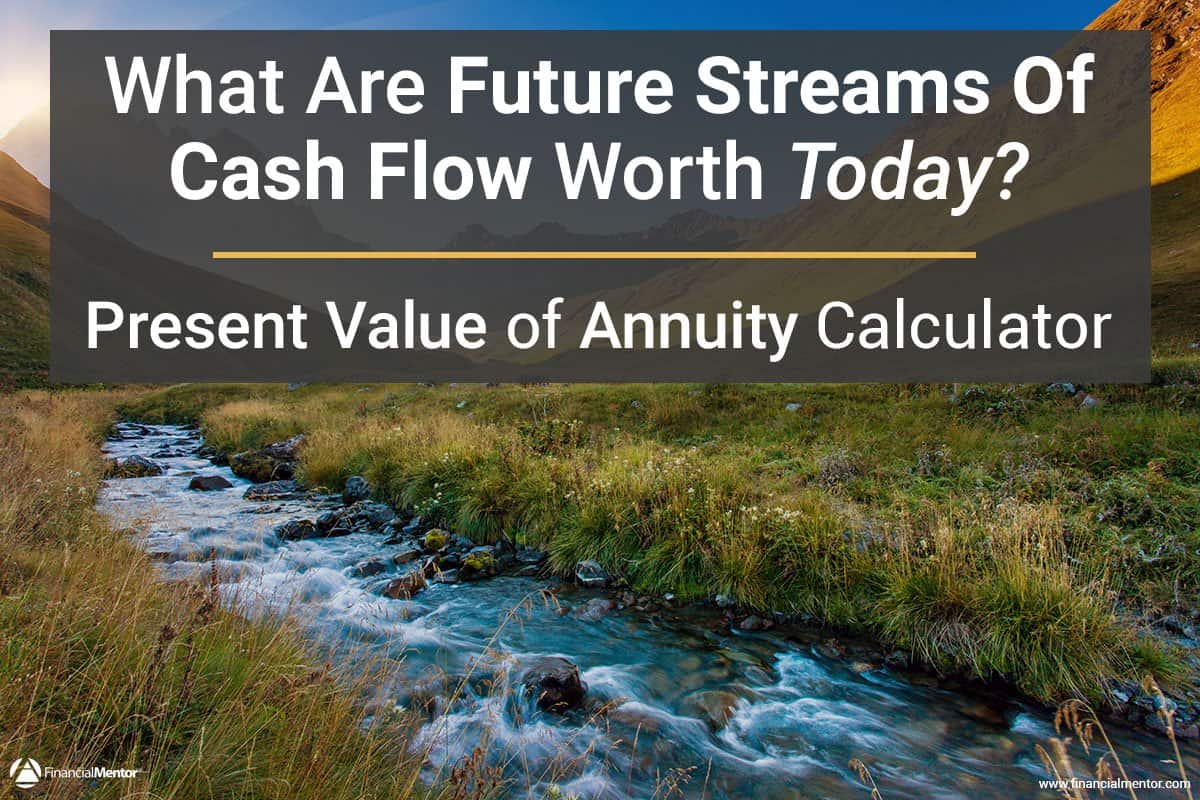 Present Value Of Annuity Calculator What S Your Money Worth