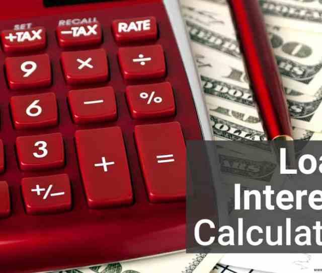 Loan Interest Calculator Image