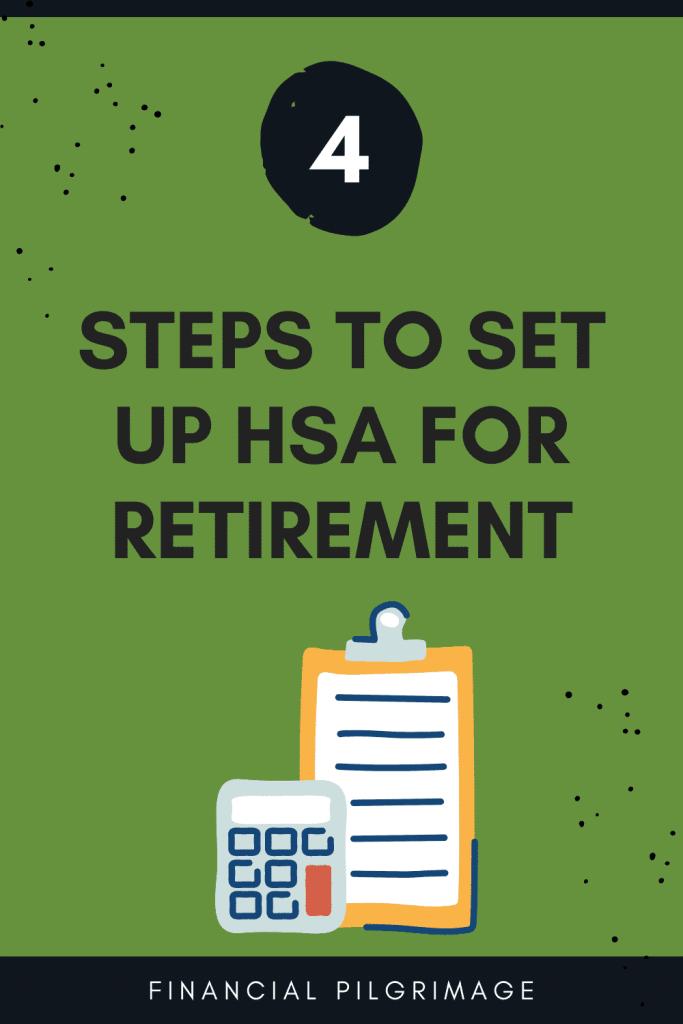 Pinterest image representing HSA for retirement
