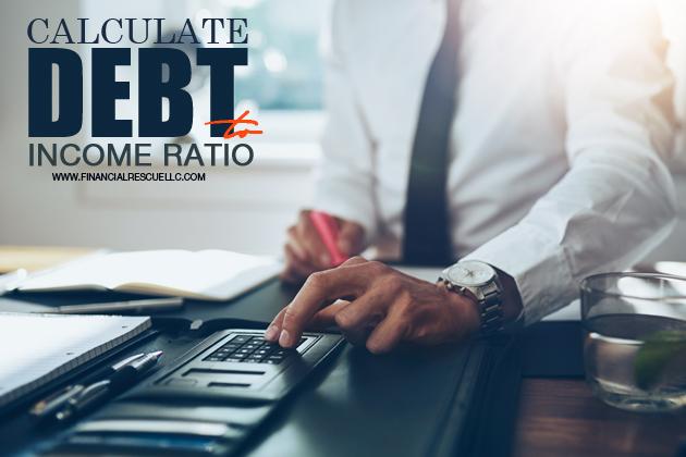 calculate debt to income ratio