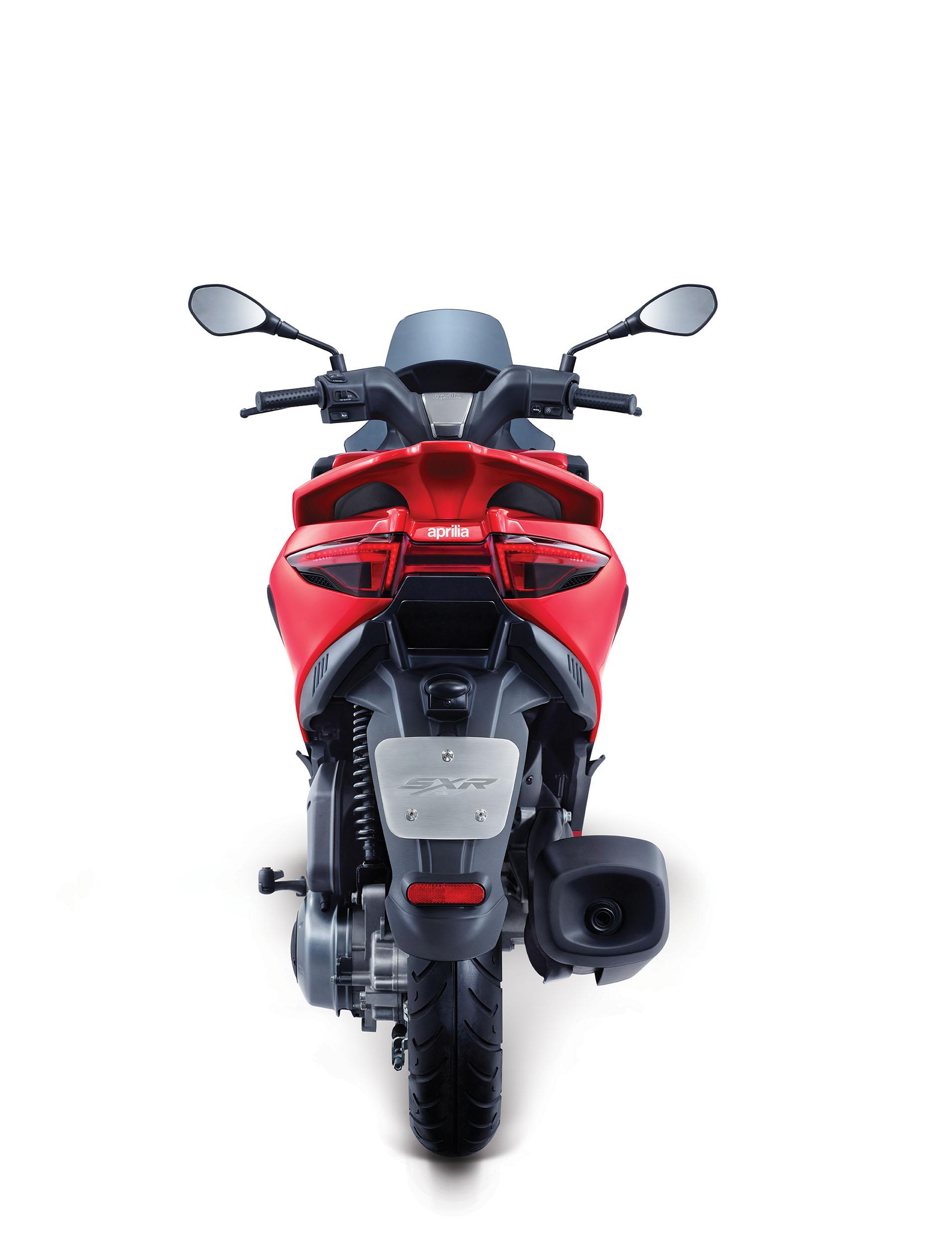 Piaggio India Unveils Aprilia Sxr 160