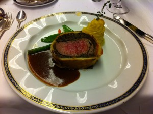 Beef Wellington Medium Rare 401K