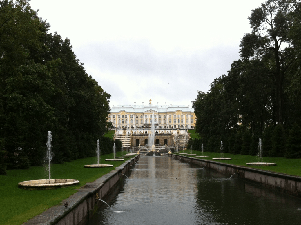 Peterhof, Russia - I've Seen The Future And It Looks So Bright