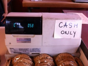 Cash Only Register