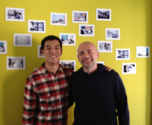 Andrew Mok, Marketing and Andre Haddad, CEO