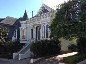 Old San Francisco Victorian