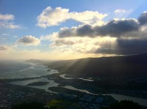 View from Koko Head, Oahu