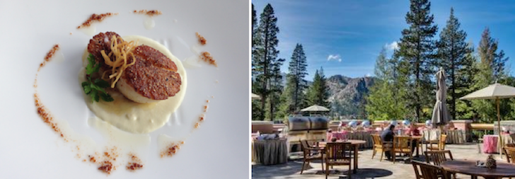 Food at Resort At Squaw Creek, Lake Tahoe
