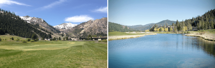 Golf and Hiking, Squaw, Lake Tahoe