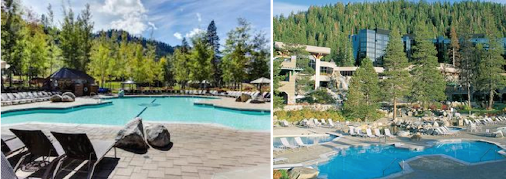 Pools and Hot tubs Resort At Squaw Creek, Lake Tahoe