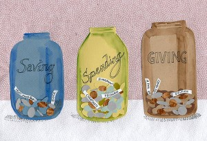 Three Money Jars by Colleen Kong