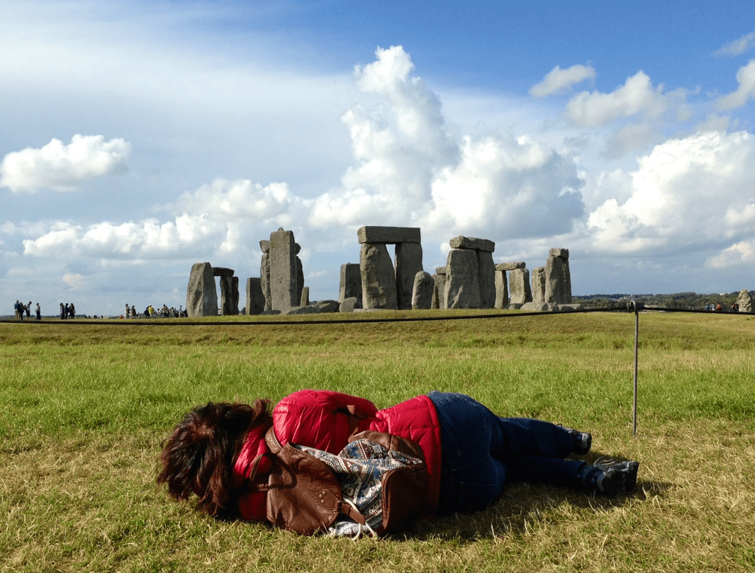 Stonehenge Sideways View - How Europeans See Money Differently From Americans