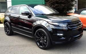 Range Rover Evoque Black Limited