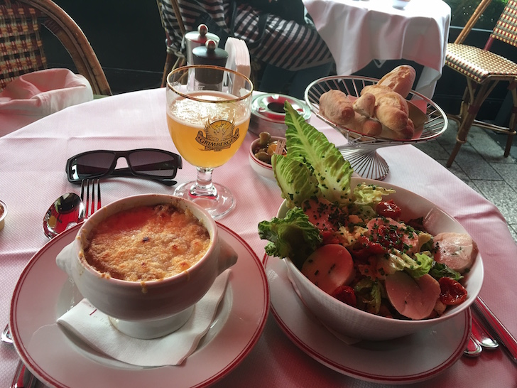 Expensive French Food at Le Fouqete's
