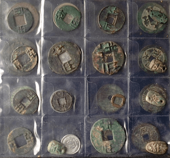Antique Chinese Coin Collection Part Of Net Worth