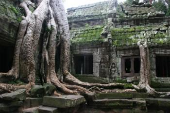 Angkor Wat, Cambodia by Linda Russell