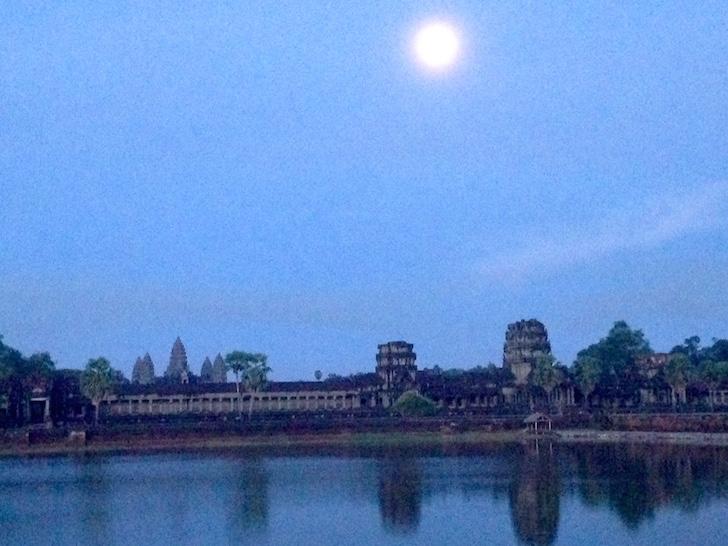 Angkor Wat At Night