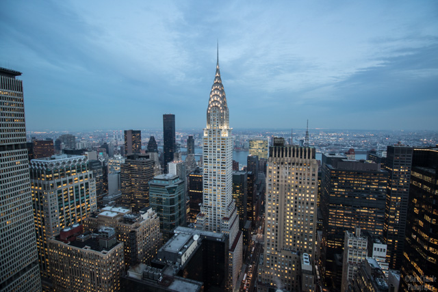 Chrysler Building, NYC - Living In An Expensive City Can Make You Richer